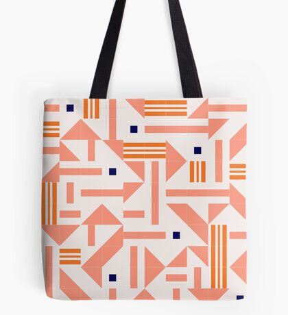 Random Tiles #redbubble #pattern Tote Bag