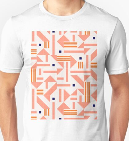 Random Tiles #redbubble #pattern T-Shirt