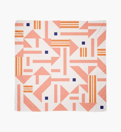 Random Tiles #redbubble #pattern Scarf