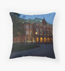Collegium Novum Throw Pillow
