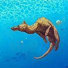 Drachen schwimmen von Astyrra