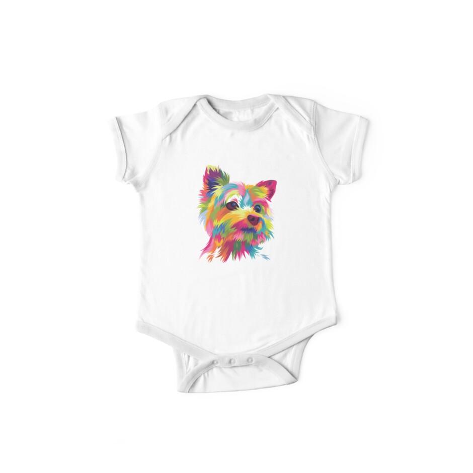 00d2b377b8f3 Pop Art Shirt Yorkshire Yorkie Dog Graphic Gift