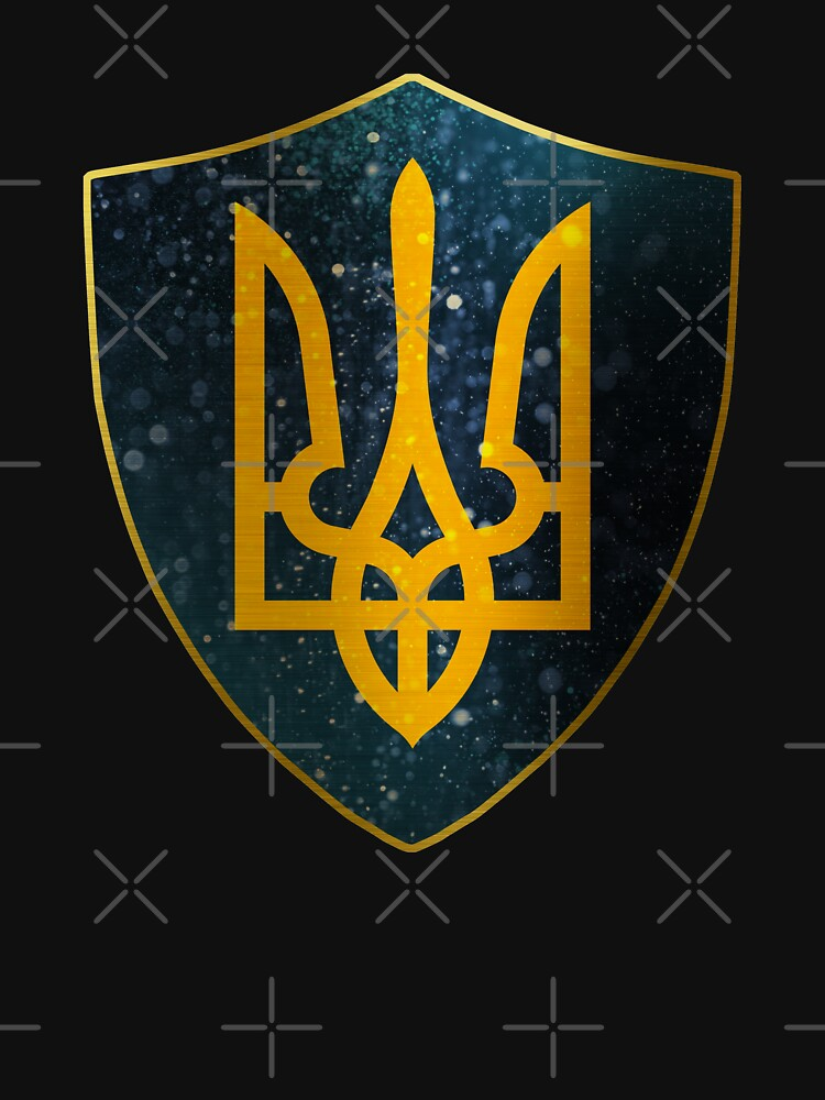 Ukraine Coat of Arms Shield by ockshirts