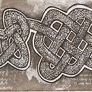 Celtic brown snake by SnakeArtist