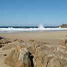 Little Bay, South West Rocks, N.S.W. Australia. by Mywildscapepics