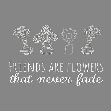 Top Friends Thank you Gift Vases Flower Lover by LGamble12345