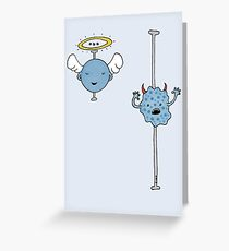 The Data of Good & Evil! Greeting Card