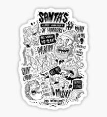 Santa's Little Workshop of Horrors Sticker