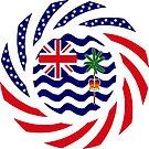 British Indian American Multinational Patriot Series by Carbon-Fibre Media
