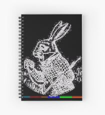 Copy of RABBIT F[R]IEND (ii) by RootCat Spiral Notebook