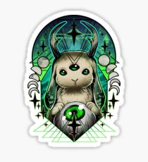 Space Bunny  Sticker