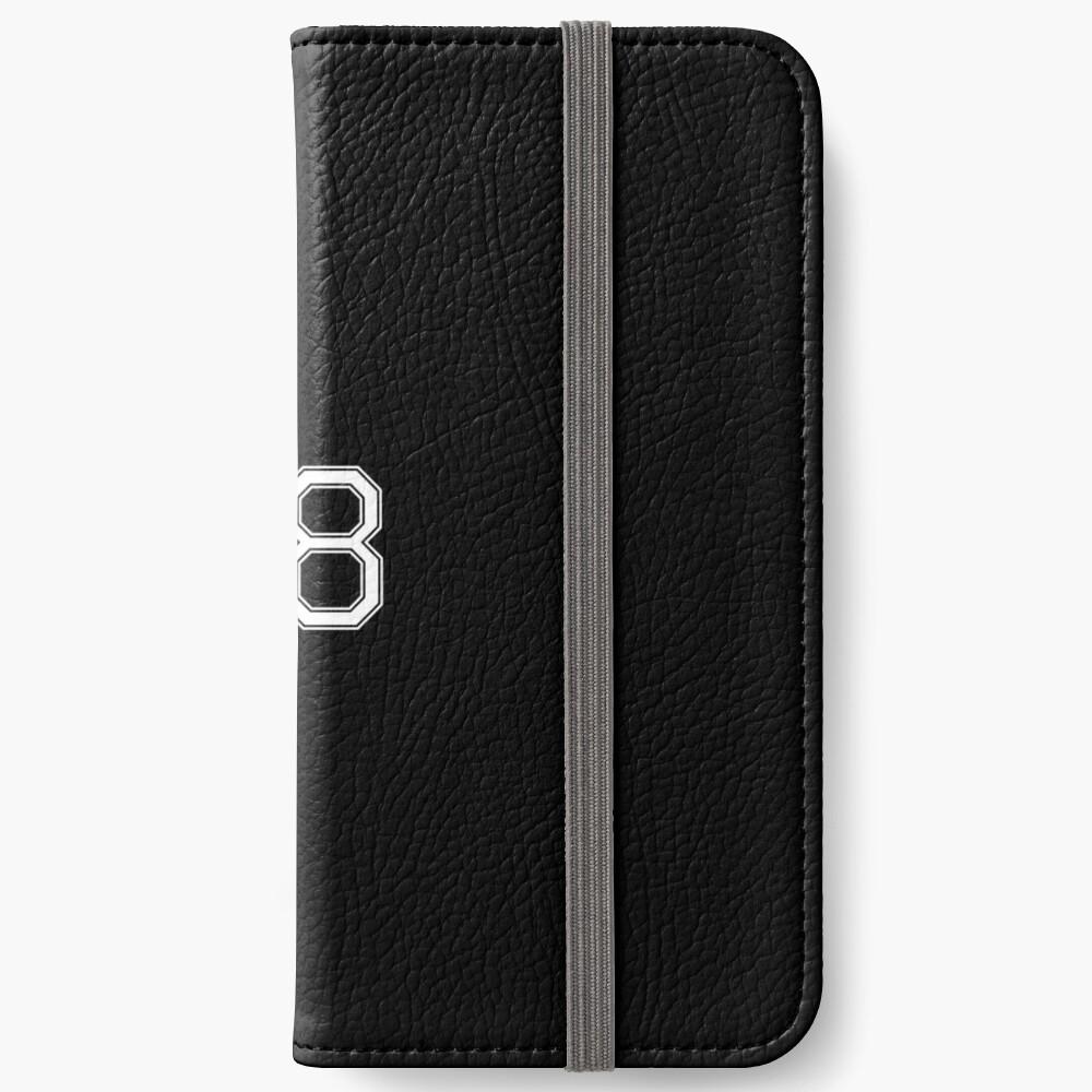 Nummer 68 American Football Spielernummer Sport Design iPhone Flip-Case