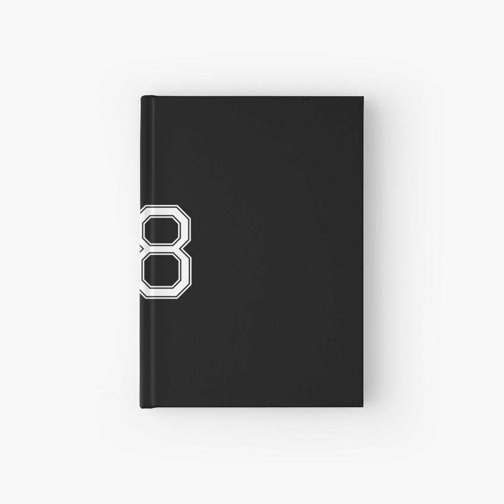 Nummer 68 American Football Spielernummer Sport Design Notizbuch