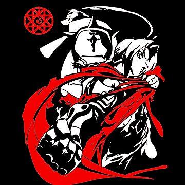 Fullmetal Alchemist - Alphonse and Edward Elric by OtakuPapercraft