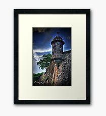 El Morro (HDR) Framed Print