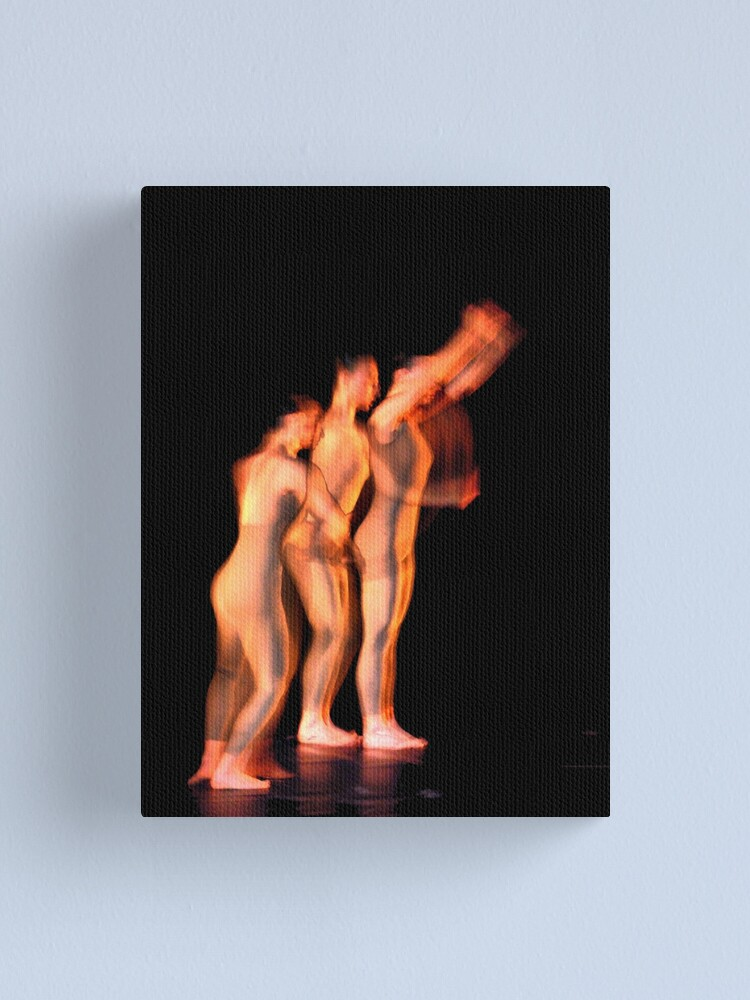 Alternate view of three movements III Canvas Print