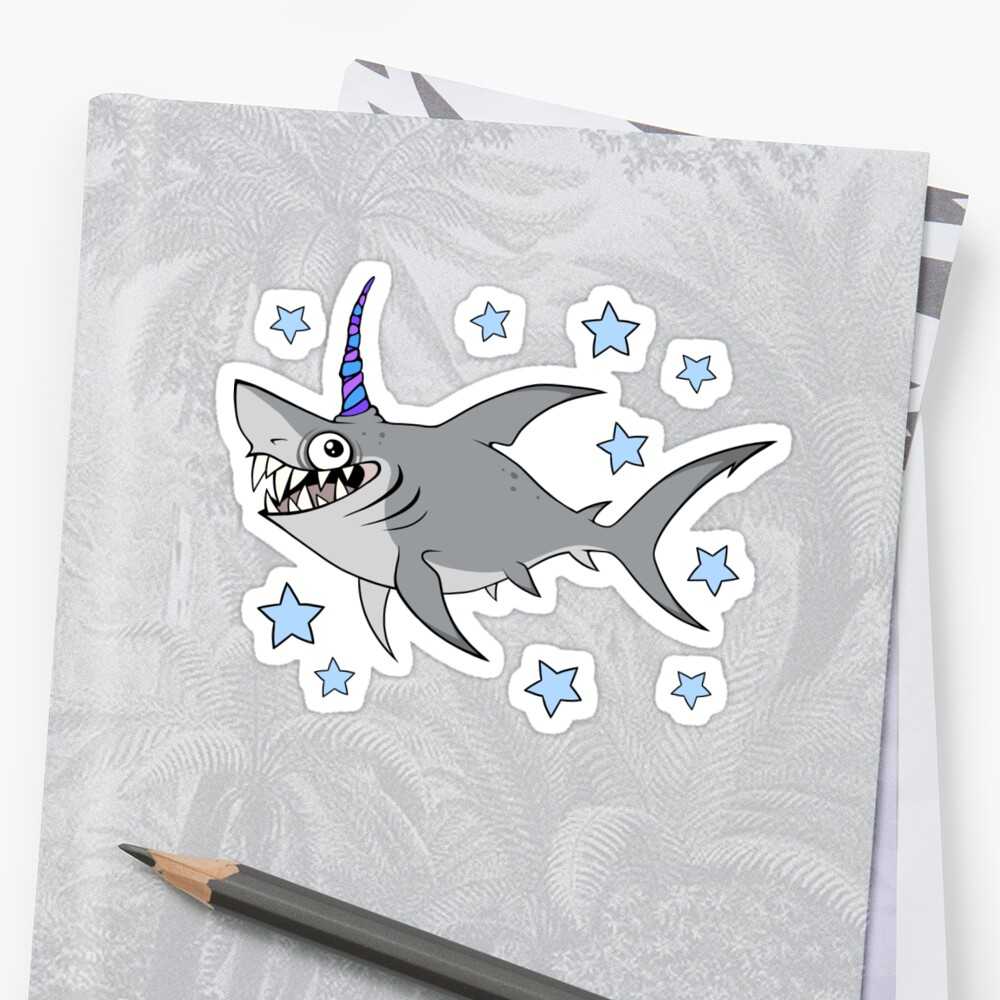 Unishark Sticker