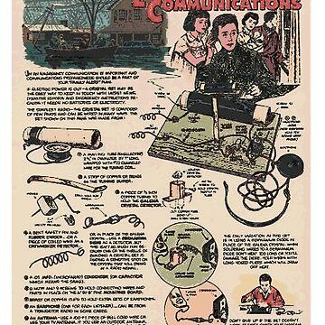 Emergency Communications Advert. (Radio ham). by timothybeighton