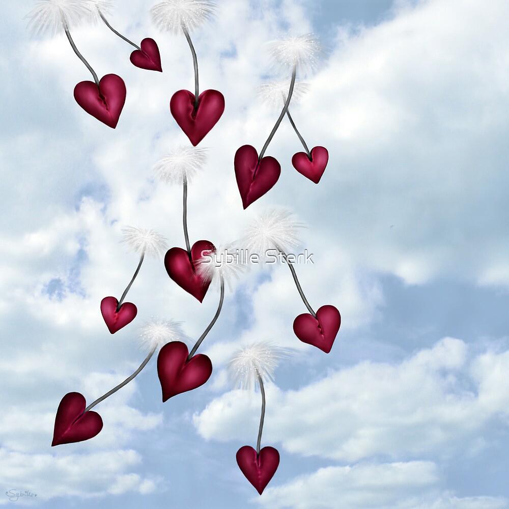 Heart Seeds Version 1 by Sybille Sterk