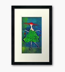 la Parisienne Framed Print