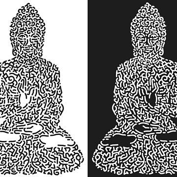 Buddha  by Karotene