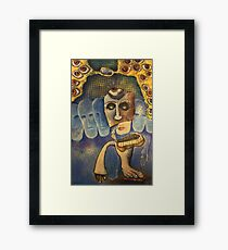 Madame Logos {The Watchers} Framed Print