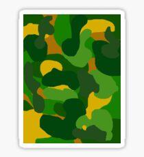 Camo Muster Sticker