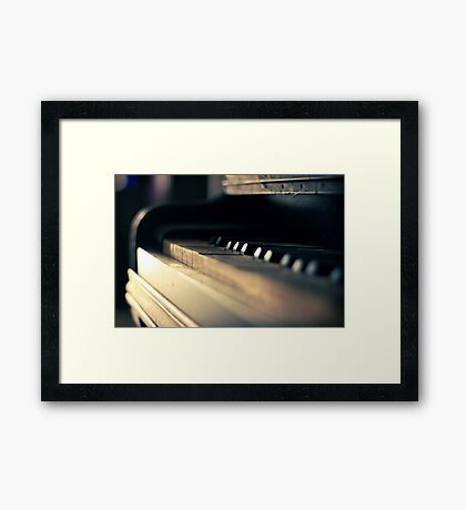 The piano #1 Framed Print