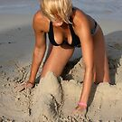 Sexy sand castle by Wildcat123