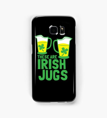 These are IRISH Jugs with green shamrcoks Samsung Galaxy Case/Skin