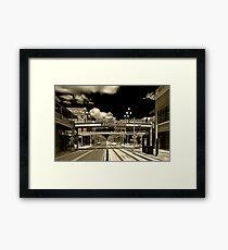 Ghost Town- Ybor City HDR (CS5) Framed Print