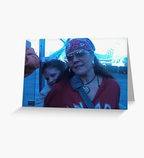 Mom and Son  Greeting Card
