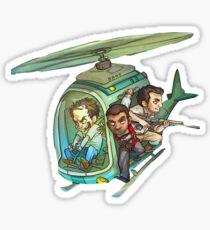 Grand Theft Auto Top Sticker