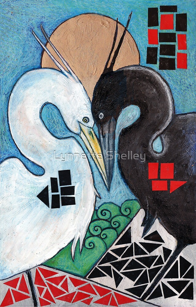 The Heron's Shadow by Lynnette Shelley