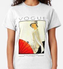 VOGUE : Vintage 1928 Magazine Cover Print Classic T-Shirt