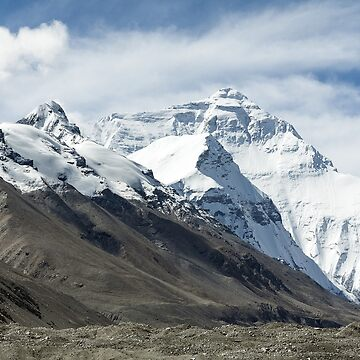 Mount Everest by EdmondHoggeJr