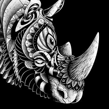 Rinoceronte adornado de quilimostock