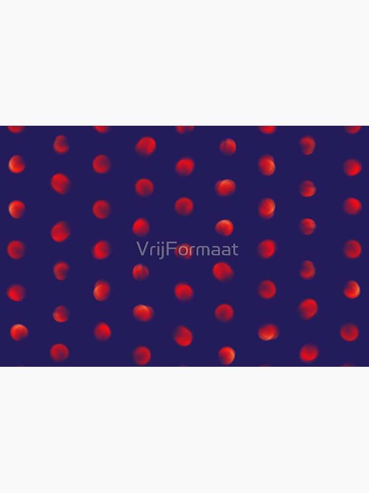 Total eclipse of the polka dot by VrijFormaat