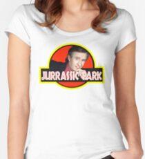 "Alan Partridge ""JURASSIC PARK"" Women's Fitted Scoop T-Shirt"