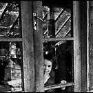 Looking out by John Adulcikas