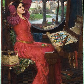 John William Waterhouse - I am half-sick of shadows, said the lady of shalott by Geekimpact