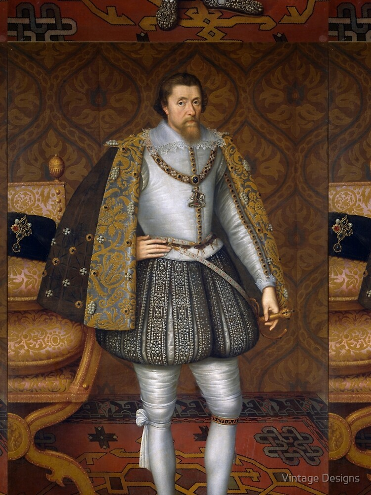 Portrait of King James I of England by Geekimpact