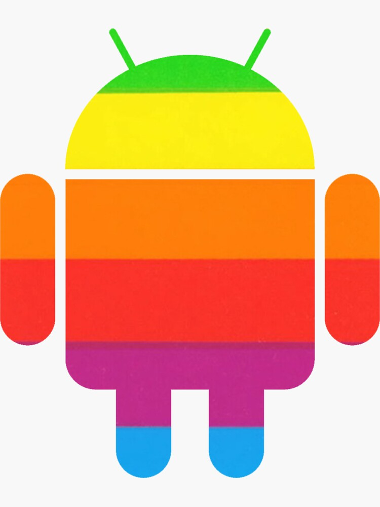 Rainbow Color Android by Synastone