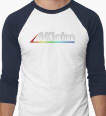Acclaim Old School Video Game Logo Men's Baseball ¾ T-Shirt