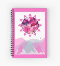 Abstract Mountainscape  Spiral Notebook