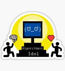 Algorithmic idol Sticker