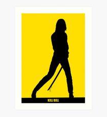 KILL BILL - Minimal Silhouette Poster Art Print