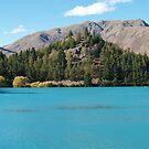 Benmore -hydro dam - Waitaki valley by redkitty