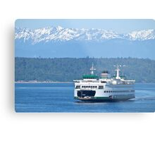 Quot Edmonds Ferry On Puget Sound Quot By Barb White Redbubble