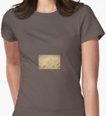 Long Grass Blowing in the Wind Womens Fitted T-Shirt